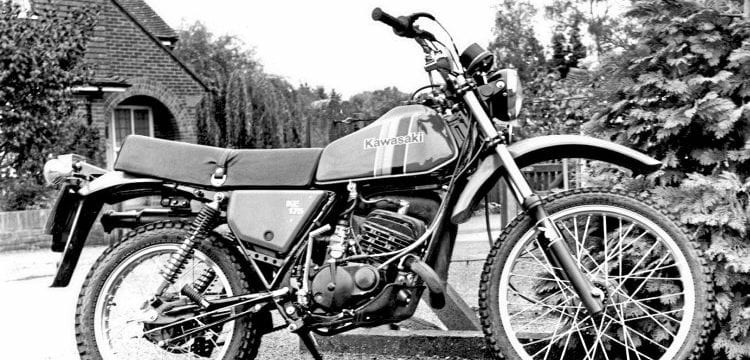 When the good trail times rolled for Kawasaki – Old Bike Mart