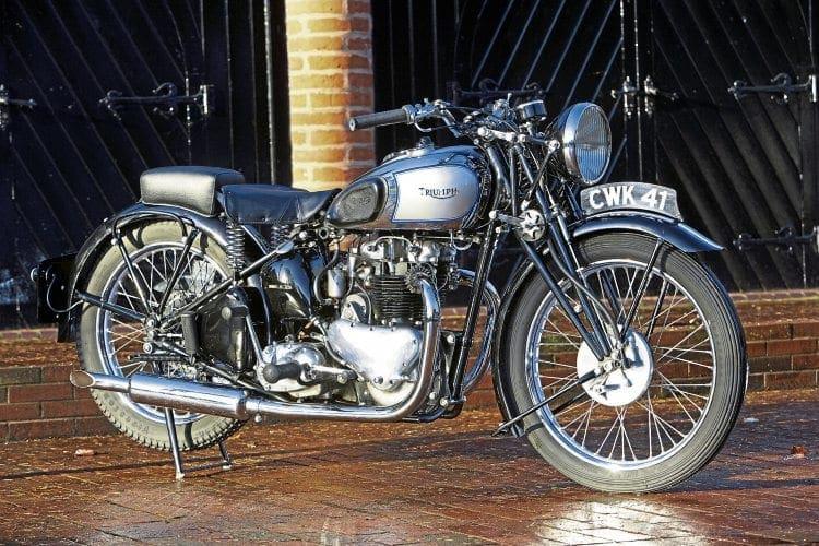 1938 Triumph Speed Twin Old Bike Mart