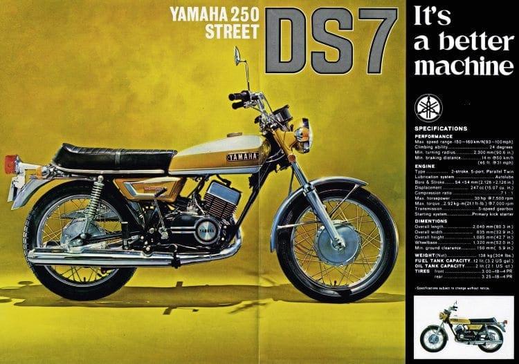 Made in Japan: Yamaha YDS7/YR5 – Old Bike Mart